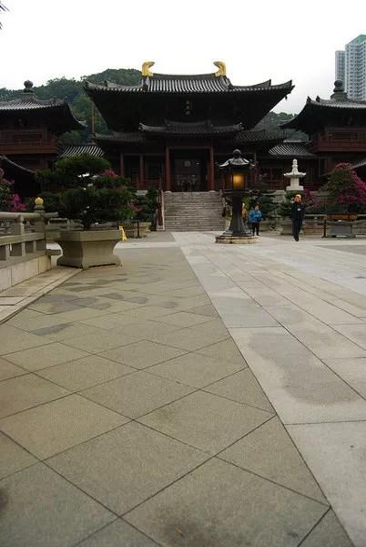 Chi Lin Nunnery de Hong Kong