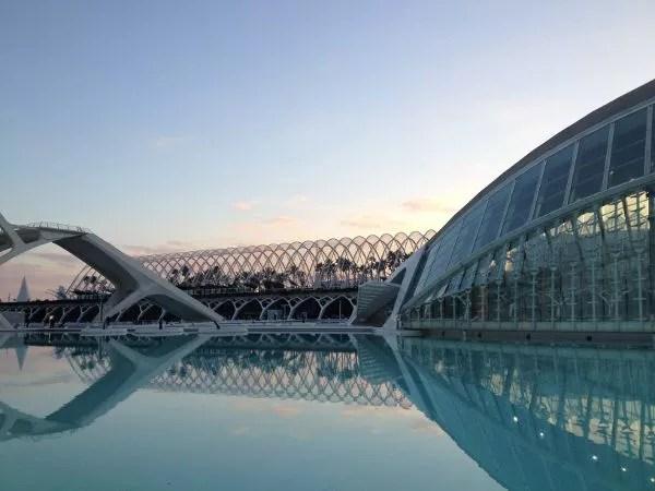 Ciuda de las Artes y las Ciencia de Valencia