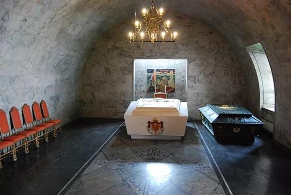 Criptas del castillo de Akershus en Oslo