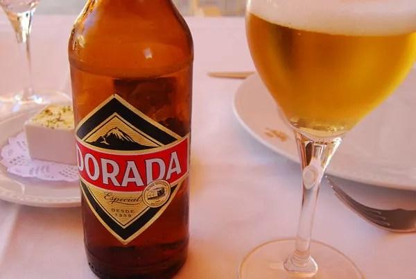 Dorada, cerveza de Canarias