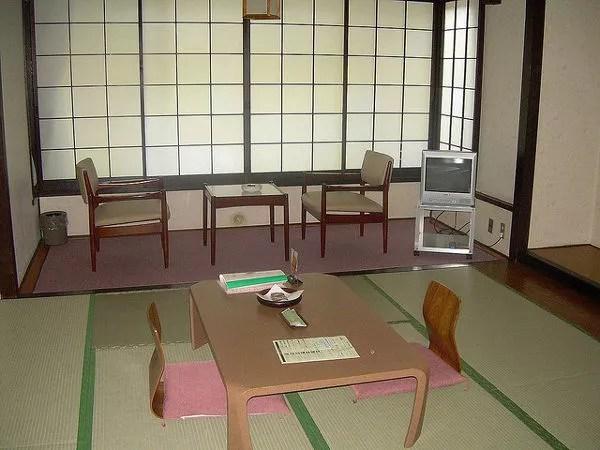 Dormir en un ryokan en Japón