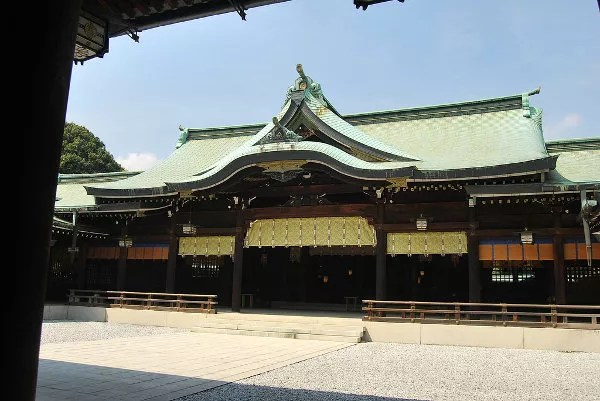 Edificio Principal del Meiji Jingu de Tokio