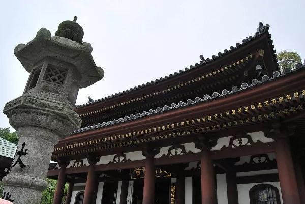 Edificio principal del Hase-dera