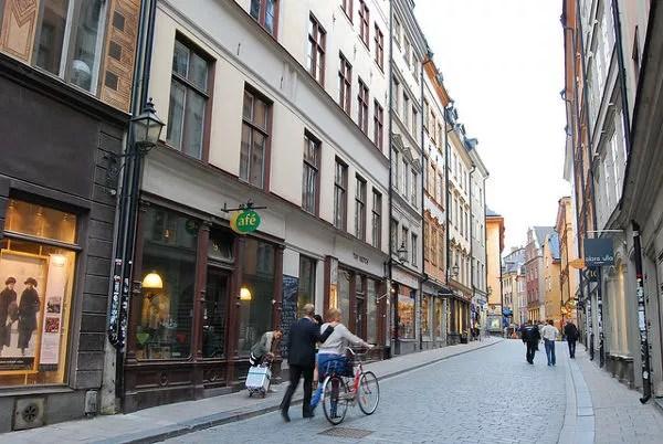 El Gamla Stan de Estocolmo