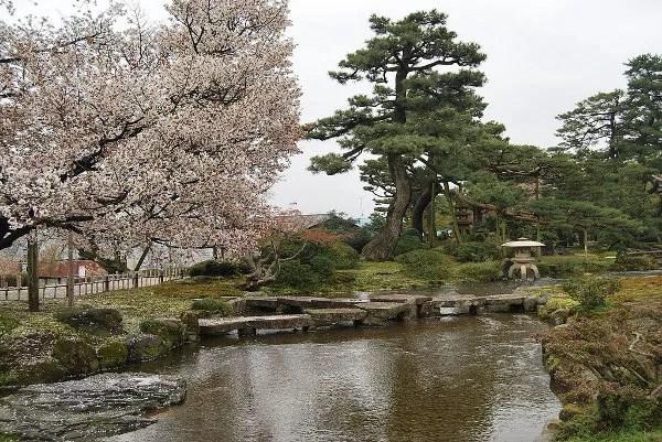 El Kenroku-en de Kanazawa