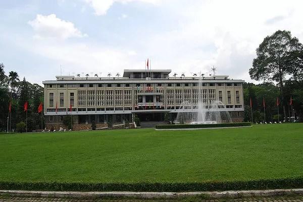 El Palacio de la Reunificación de Ho Chi Mihn City