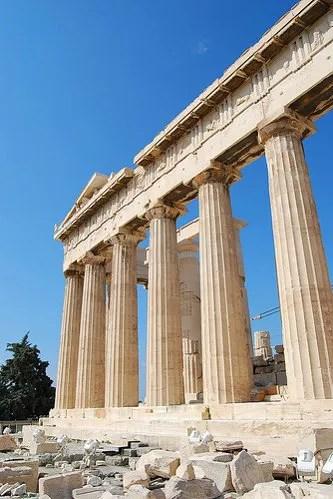 El Partenón de Atenas y sus piedras