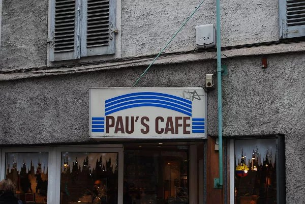El café de Pau