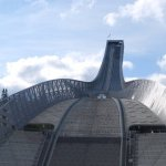 El trampolín de saltos de esquí Holmenkollen de Oslo