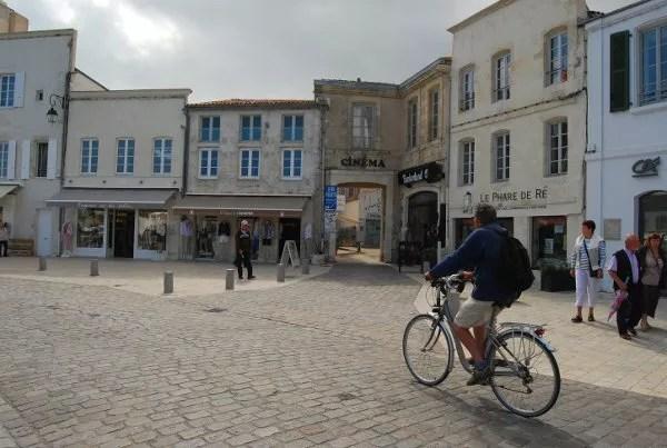 En bicicleta por Saint-Martin de Ré
