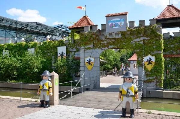 Entrada al Playmobil FunPark de Alemania