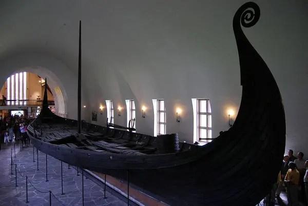 Espectacular barco vikingo expuesto en Oslo