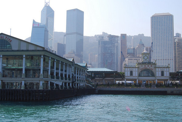 Estación del Star Ferry en Central