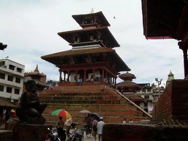 Estatua de la Kathmandu Durbar Square