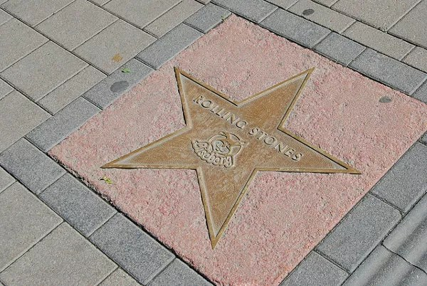 Estrella de los Rolling Stones en Liseberg