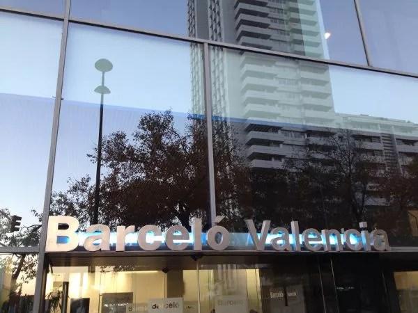 Hotel barcel valencia y ciudad de las artes y las ciencias el pachinko - Hotel barcelo valencia ...