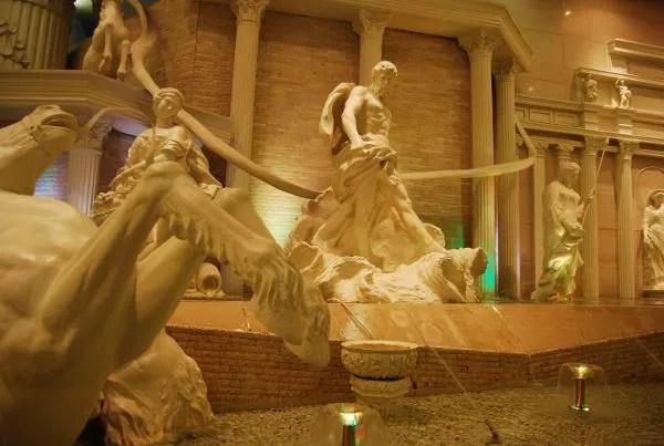 Fontana di Trevi en los grandes almacenes Shinsegae de Busan