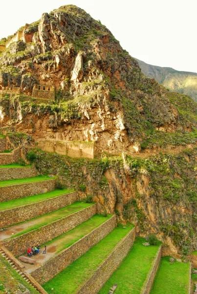 Foto de Peru, restos arqueologicosde Ollantaytambo