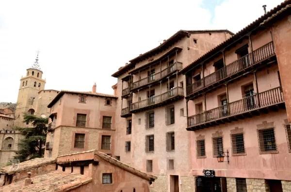 Fotos Albarracin, Teruel - balconadas y catedral
