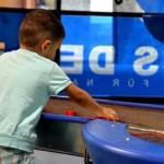 Fotos Austria con niños, Oriol en Haus der Natur