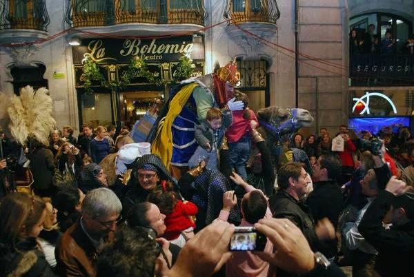 Fotos Cabalgata de Reyes Magos Alcoy, Melchor