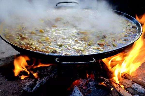 Fotos Día de las Paellas Benicassim 2015, fuego