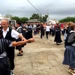 Fotos Delta del Ebro. Siega del arroz, baile