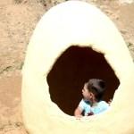 Fotos Dinópolis Teruel, Oriol en el huevo