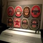 Fotos Heineken Experience Amsterdam, etiquetas antiguas