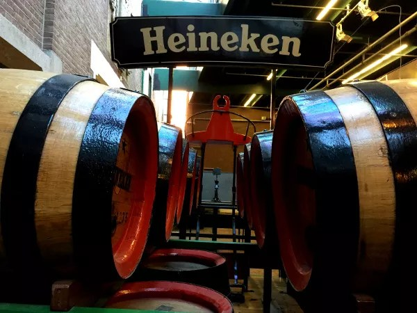Fotos Heineken Experience Amsterdam, toneles