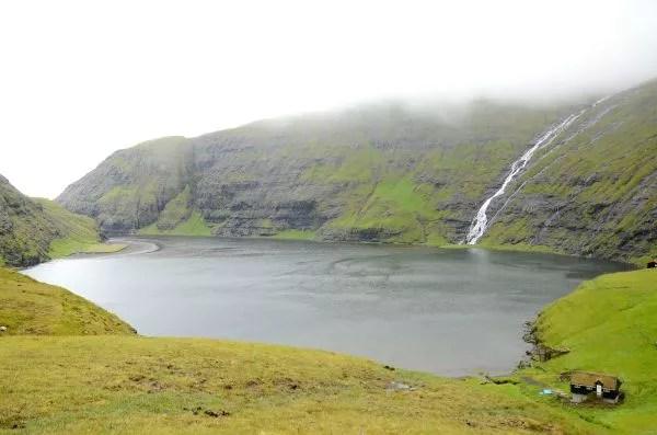 Fotos Islas Feroe, Saksun. Lago Mareal