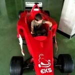 Fotos Salou, Oriol en el Electric Karting Salou