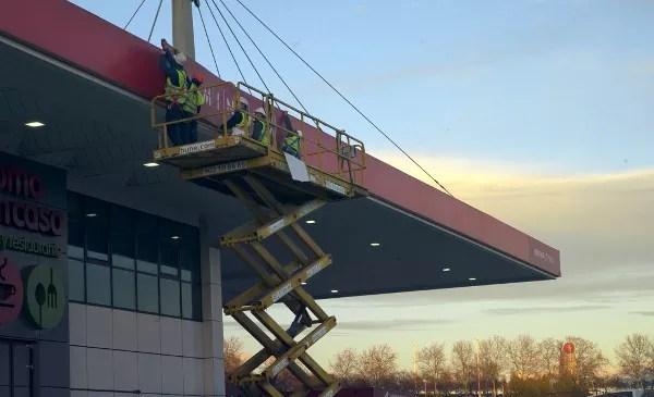Fotos Terminal Avios Iberia y Cepsa construccion