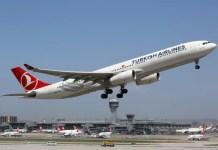 Fotos Turkish Ailines clase business, avion en Estambul