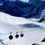 Fotos de Aiguille du Midi en Francia, teleférico