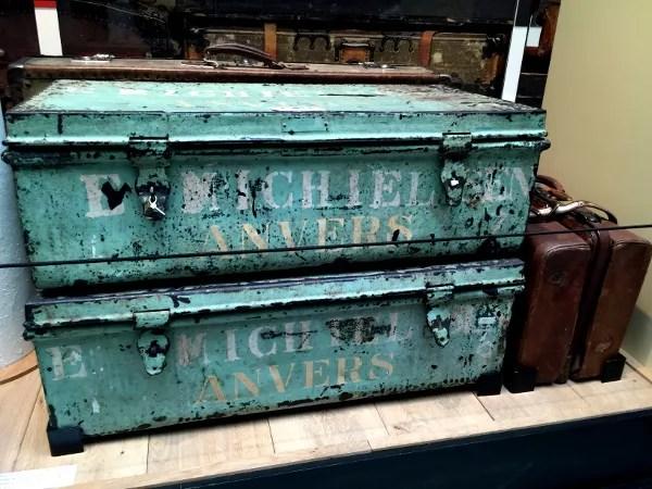 Fotos de Amberes, Red Star Line Museum maletas