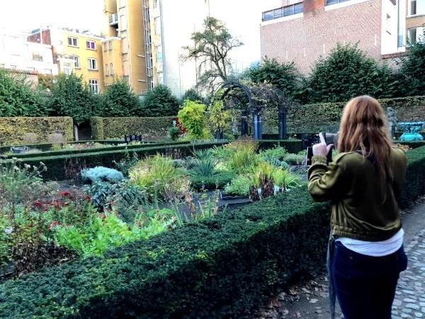 Fotos de Amberes en Flandes, jardin Casa Museo de Rubens