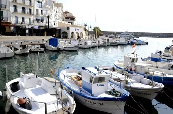 Fotos de Ametlla de Mar en Tarragona, barcas en el puerto