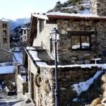 Fotos de Andorra, Pal casas nevadas