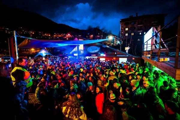 Fotos de Andorra, apres ski en abarset
