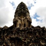 Fotos de Angkor, torre de Angkor Wat