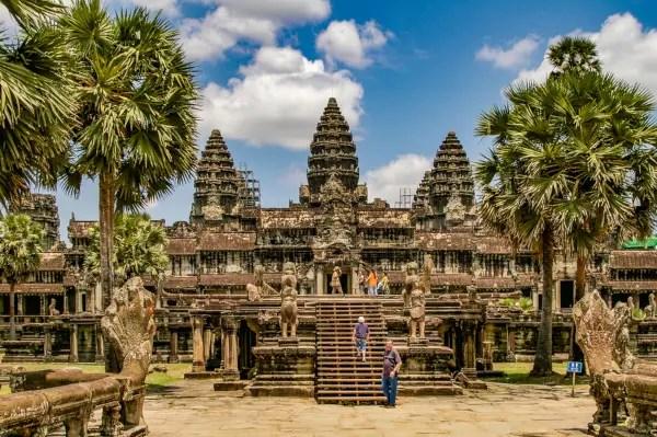 Fotos de Angor Wat en Camboya, las torres