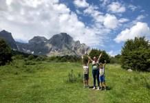 Fotos de Aragón, Teo, Oriol y Vero manos Ibon de Piedrafita