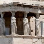 Fotos de Atenas en Grecia, Cariatides Acropolis