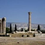 Fotos de Atenas en Grecia, Templo de Zeus Olimpico