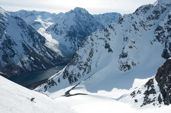 Fotos-de-Auroras-Boreales-en-Noruega-Lyngen ▷ El mejor lugar de Noruega para ver la aurora boreal