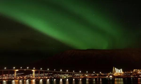 Fotos de Auroras Boreales en Noruega, Tromso en Lofoten
