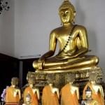 Fotos de Bangkok, Wa Pho estatuas de Buda