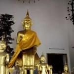 Fotos de Bangkok, Wat Pho Budas pequenos