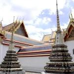 Fotos de Bangkok, Wat Pho estupas vertical